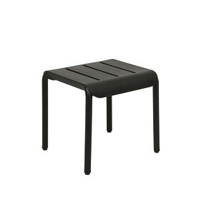 Outo Hocker Side Table - Black