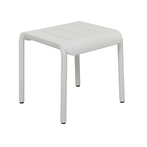 Outo Hocker Side Table - White
