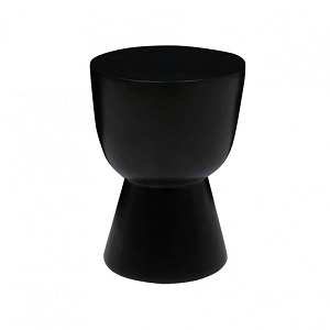 Granada Goblet Side Table - Lava