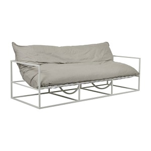 Aruba Frame 2 Seater Sofa - Putty