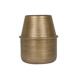 Harira Woven Vessel - Antique Brass