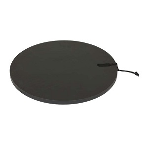 Ridge Round Cheeseboard Large - Black