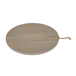 Ridge Round Cheeseboard Large - Natural