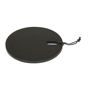 Ridge Round Cheeseboard Small - Black