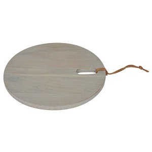 Ridge Round Cheeseboard Small - Natural
