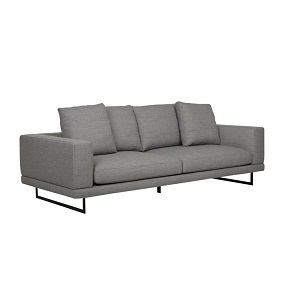 Hugo Grand 3 Seater Sofa - Fossil Weave
