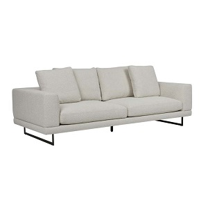 Hugo Grand 3 Seater Sofa - Oat Boucle