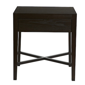 Ascot Open Bedside - Mocca Ash