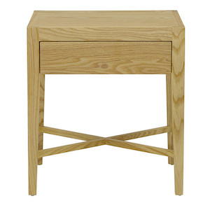Ascot Open Bedside - Natural Ash