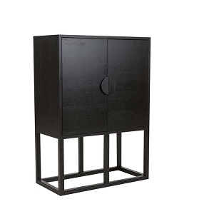 Benjamin Bar Cabinet - Black