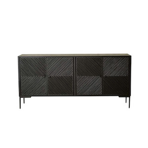 Finsbury Geo Large Buffet - Matt Black