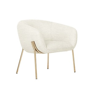 Albie Occasional Chair - Snow Boucle