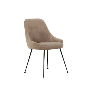 Dane Dining Chair - Clay Velvet