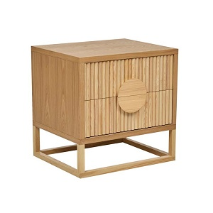 Benjamin Ripple Bedside - Natural