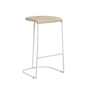 Merricks Barstool - White
