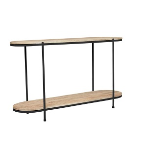 Merricks Oval Console - Black