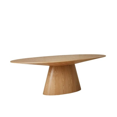 Classique Oval Dining Table - Natural Ash