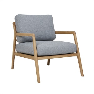 Sketch Nysse Occasional Chair - Dawn Oak