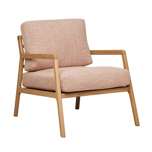 Sketch Nysse Occasional Chair - Red Clay