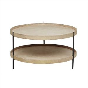 Sketch Humla Coffee Table 69cm - Light Oak