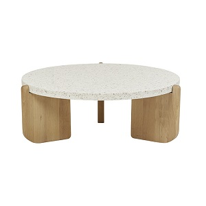 Sketch Native Round Coffee Table Large - Nougat