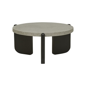 Sketch Native Round Coffee Table Small - Grey
