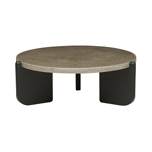 Sketch Native Round Coffee Table Large - Grey