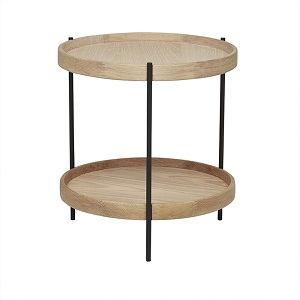 Sketch Humla Side Table - Light Oak
