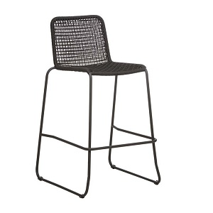 Haven Rope Barstool - Espresso