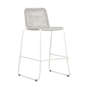 Haven Rope Barstool - Light Grey