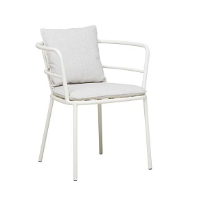 Lyon Arm Chair - Oyster