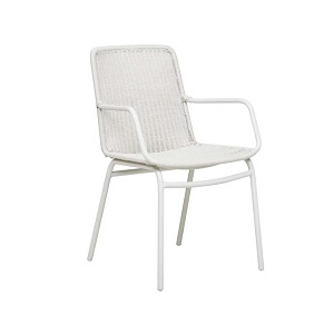 Somers Arm Chair - Light Grey