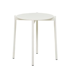 Lyon Side Table - Oyster