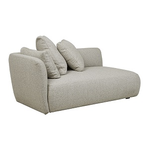Felix Pebble 2 Seater Left Arm - Biscuit