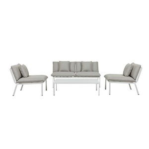 Pier Lounge Sofa Set - White