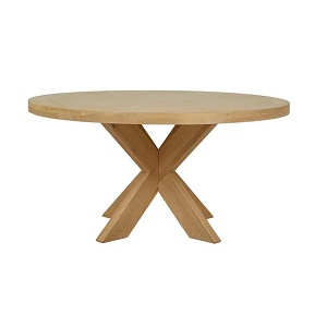 Acre Round Dining Table - Natural Oak