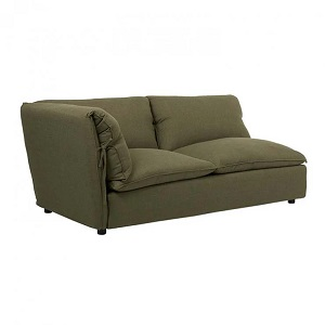 Felix Slouch Right Chaise - Moss Weave