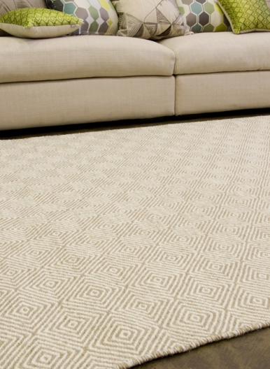 Braid Diamond Rug