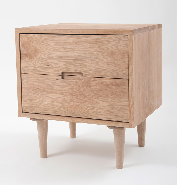 Hugo bedside table make your house a home bendigo central victoria - Bedside table ...