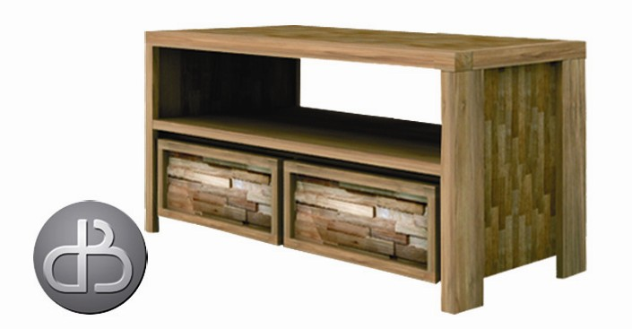 Lekk low dresser 2 drawer