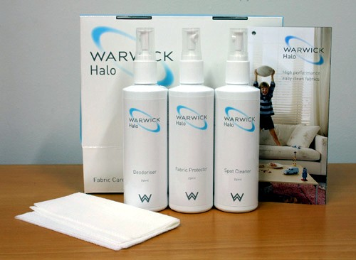 Halo fabric care kit by Warwick