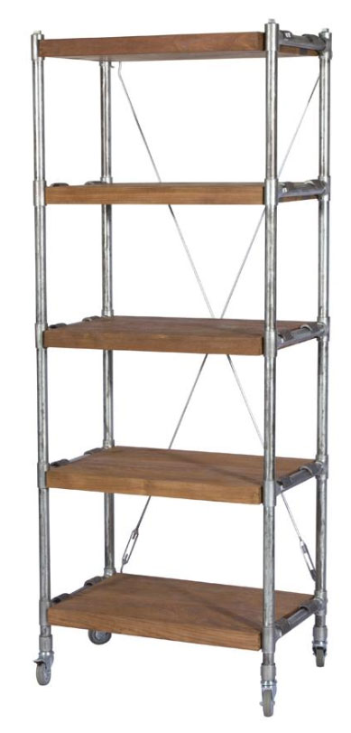 Kasting Book Rack with 5 shelves