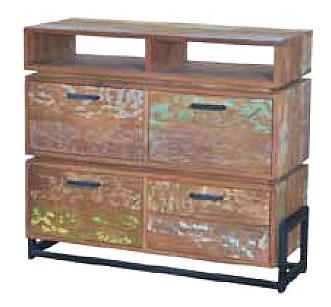 Look High Dresser - 4 drawers