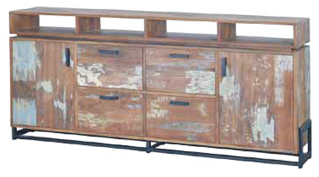 Look High Dresser - 2 doors 4 drawers