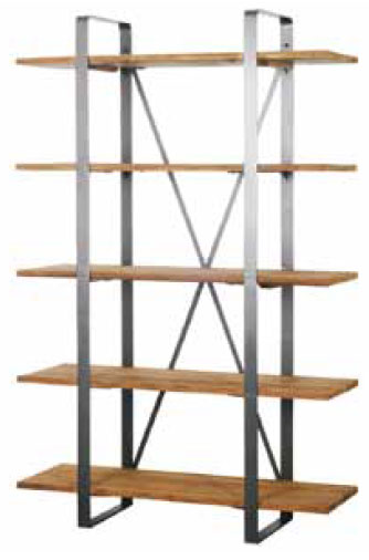 Spike Bookrack with 5 shelves