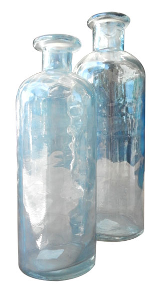 Castella Blue Glass Vase