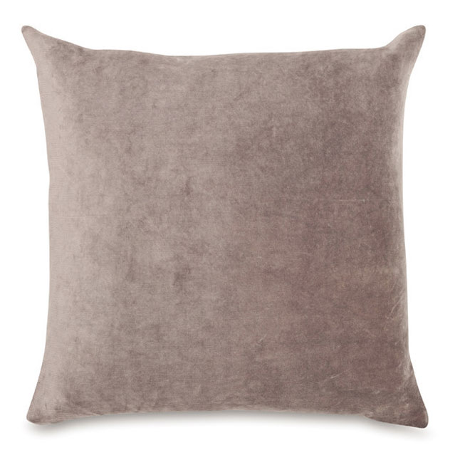 Velvet Cushion in Dove