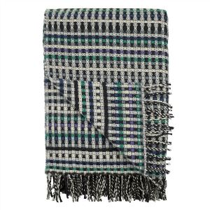 ashbee cobalt blanket by designers guild