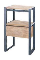 Fendy Side Table 1 Drawer