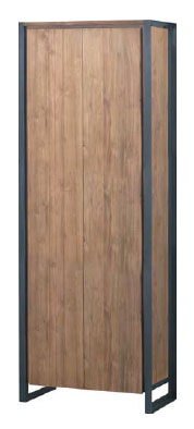 Fendy Bookcase 2 doors